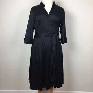 Alfani Black Wrap Dress